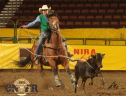 Brooke-and-Rastus-Bunny at-the-13-CNFR. harrington hirschy horses