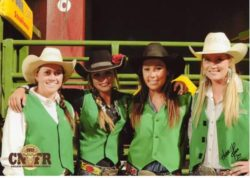 Brookes-and-the-rest-of-the-Cal-Poly-girls-team-at-the-13-CNFR. harrington hirschy horses