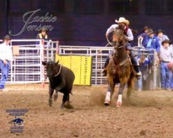 Murphy-and-Montana-Dasher-Snap-at-the-MSU-college-rodeo. harrington hirschy horses